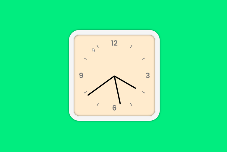 JavaScript Clock demo
